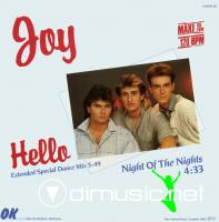 Joy - Hello[Maxi-Single]`86
