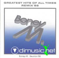 Greatest Hits Of All Times Remix'88 (1988) BONEY M
