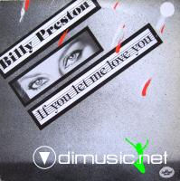 Billy Preston - If You Let Me Love You - Single 12'' - 1984