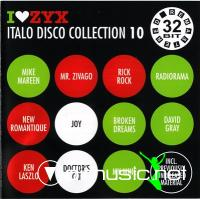V.A. - I Love ZYX Italo Disco Collection 10 (3cd) (2009)