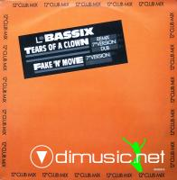 Bassix - Tears Of A Clown- Fake 'N' Move - Single 12'' - 1987