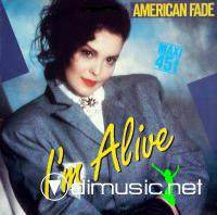 American Fade - I'm Alive(Let's Move On) - Single 12'' - 1983