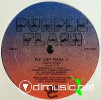 Purple Flash - We Can Make It - Single 12'' - 1984