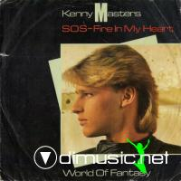 Kenny Masters - S.O.S. Fire In My Heart (Vinyl, 12'') 1985