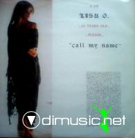 Lisa G. - Call My Name (Vinyl, 12'') 1986