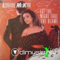 Lorraine McKane - Let The Night Take A Blame (Vinyl, 12'') 1984