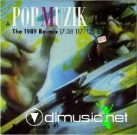 M - Pop Muzik (The 1989 Re-Mix) (CD Single) 1989