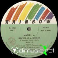 Magic-A - Heaven Is A Secret (Vinyl, 12'') 1986