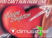 Maxine Singleton - You Can't Run From Love (Vinyl, 12'') 1983