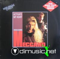 Meccano - Activate My Heart (Vinyl, 12'') 1986