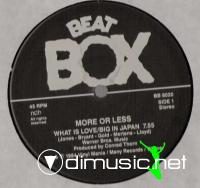 More Or Less - What Is Love / Big In Japan (Medley) (Vinyl, 12'') 1984