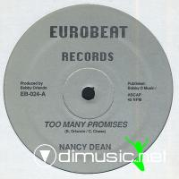 Nancy Dean - Too Many Promises (Vinyl, 12'') 1986