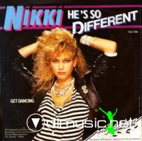 Nikki - He's So Different (Vinyl, 12'') 1985