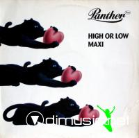 Panther Rex - High Or Low (Vinyl, 12) 1985