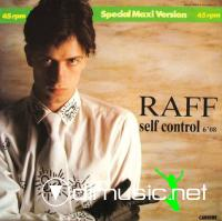 Cover Album of Raff - Self Control (Vinyl, 12'') 1984
