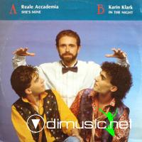 Reale Accademia / Karin Klark - She's Mine / In The Night (Vinyl, 12'') 1986