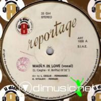 Reportage - Madly In Love (Vinyl, 12'') 1983