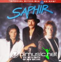 Saphir - The Witch-Queen Of New Orleans (Vinyl, 12'') 1987
