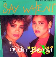 Say When! - Boys (Dance Remix) (Vinyl, 12'') 1987