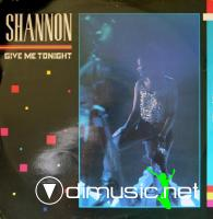 Shannon  - Give Me Tonight (Vinyl, 12'') 1984