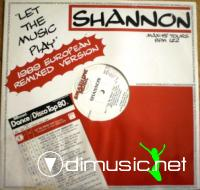Shannon - Let The Music Play (Vinyl, 12'') 1989