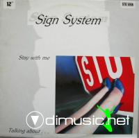 Sign System - Stay With Me (Remix) (Vinyl, 12) 1985