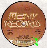 Sound Movement - Easy Game (Vinyl, 12'') 1987