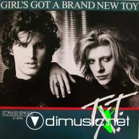 T.X.T. - Girl's Got A Brand New Toy (Vinyl, 12'') 1985