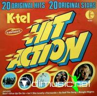 Hit Action - 20 Original Hits VA LP - K-Tel - 1976