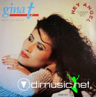 Gina T.- Hey Angel (Vinyl, 12'') 1990