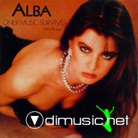 Alba - Only Music Survives (Vinyl, 12'') 1985