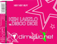 Ken Laszlo vs. Disco Dice - Hey Hey Guy (CD, Maxi-Single) 2003