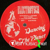 Dave Storrs - Dancing On The Planet - Single 12'' - 1985