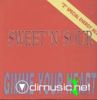 Sweet 'n' Sour - Gimme Your Heart (Vinyl, 12'') 1992