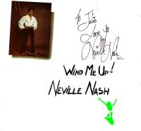 Neville Nash - Wind Me Up LP - 1981
