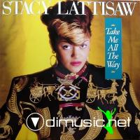Stacy Lattisaw - Take Me All The Way LP - 1986