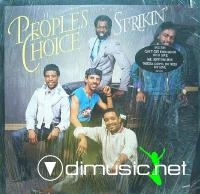 People's Choice - Strikin' LP - 1984