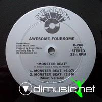 Awesome Foursome - Monster Beat - 12 Inches - 1984