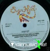 Grandmaster Flash & The Furious Five - Step Off - 12