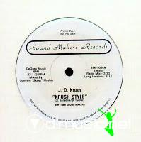 JD Krush - Krush Style - 12 Inches - 1986