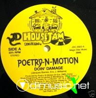 Poetry 'N' Motion - Doin' Damage - 12 Inches - 1987
