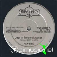 Raw Silk - Do It To The Music - 12 Inches - 1982
