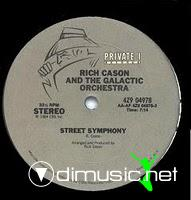 Rich Cason & The Galactic Orchestra - Street Symphony EP - 1984