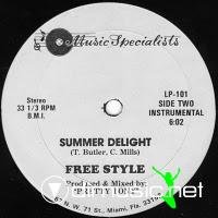 Freestyle - Summer Delight - 12 Inches - 1983