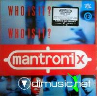 Mantronix - Who Is It - 12 Inches - 1987