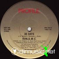 Run DMC - 30 Days - 12 Inches - 1984