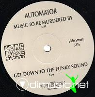 "Automator - Music To Be Murdered By - 12"" - 1989"
