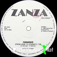 Hananas - From Here To Eternity - Single 12'' - 1983