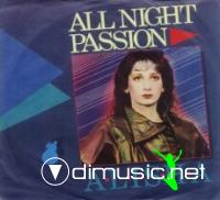 Alisha - All Night Passion - CDS - 1996