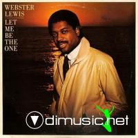 Webster Lewis - Let Me Be The One LP - 1981